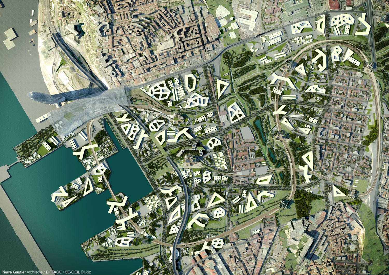 Phosphore ii marseille f for Projet architecture paris